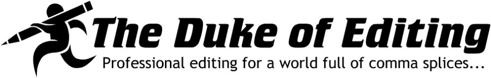 The Duke of Editing Logo -- Large Size